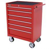 George Tools gereedschapswagen 6 laden rood
