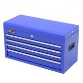 George Tools gereedschapskist 4 laden blauw