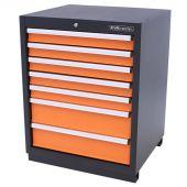Kraftmeister gereedschapsladekast 7 lades Premium oranje