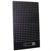 Kraftmeister gereedschapswand met stopcontact Standard line zwart