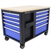 Kraftmeister gereedschapswagen XL Multiplex Standard blauw