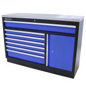 Kraftmeister gereedschapsladekast XL RVS Standard blauw