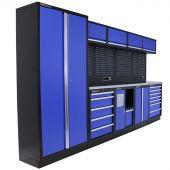 Kraftmeister werkplaatsinrichting New Jersey RVS blauw