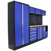 Kraftmeister werkplaatsinrichting Washington Multiplex blauw