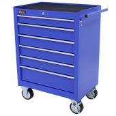 George Tools gereedschapswagen 6 laden blauw 2de keus